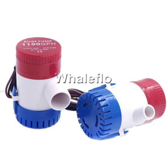 12V Submersible 1100 GPH Marine Boat Bilge Pump With Float Switch CE Approve